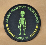 Alien Fugitive Patch