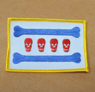CDP SKull CIty Flag Patch (Color)