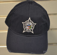 CPD Hat - Navy Distressed Star Logo