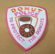 Donut Police (Dunkin) Patch