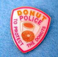 Donut Police Pin