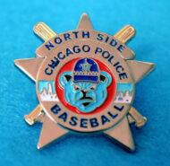 North Side Baseball Pin