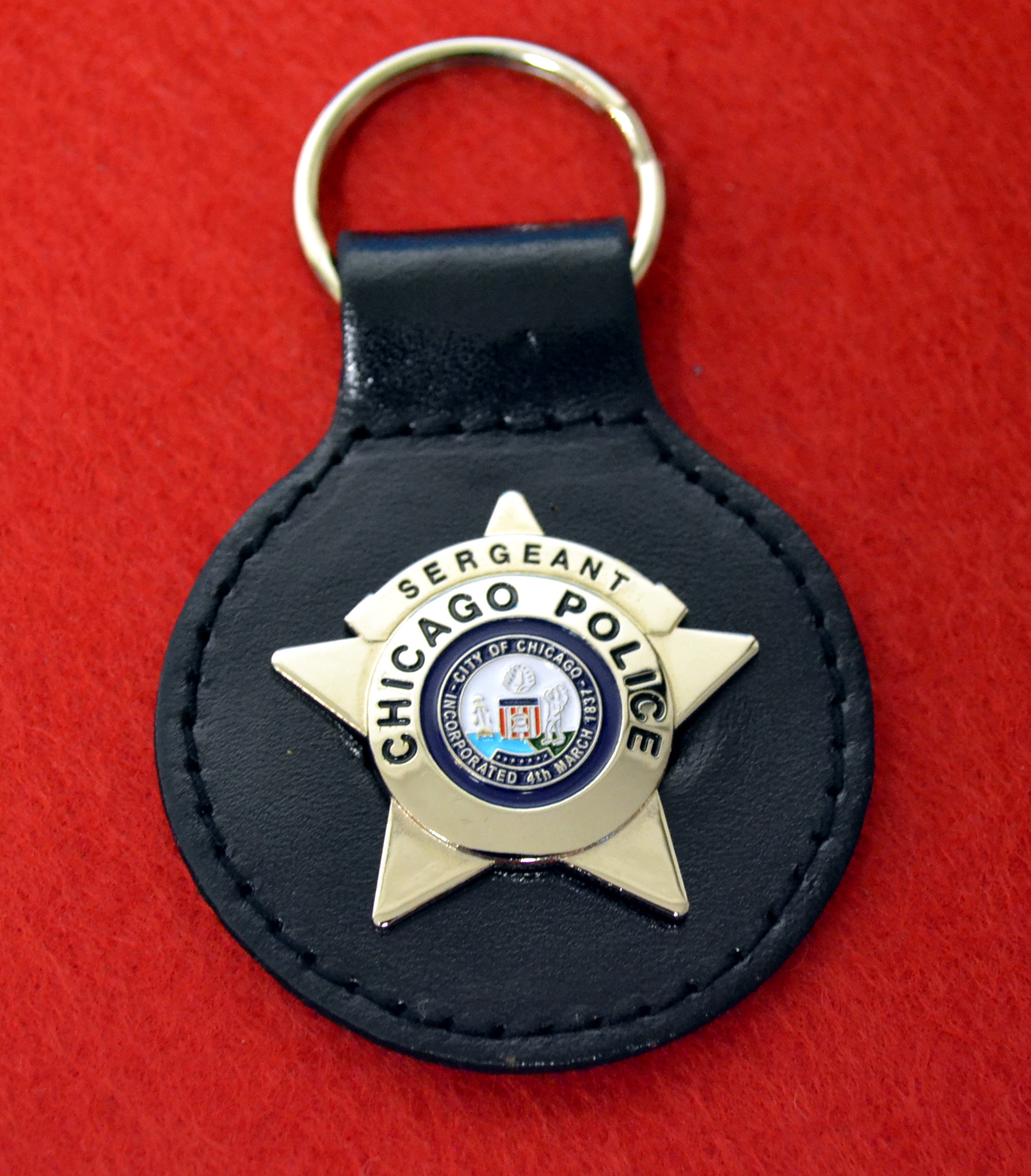 Sergeant Key Fob