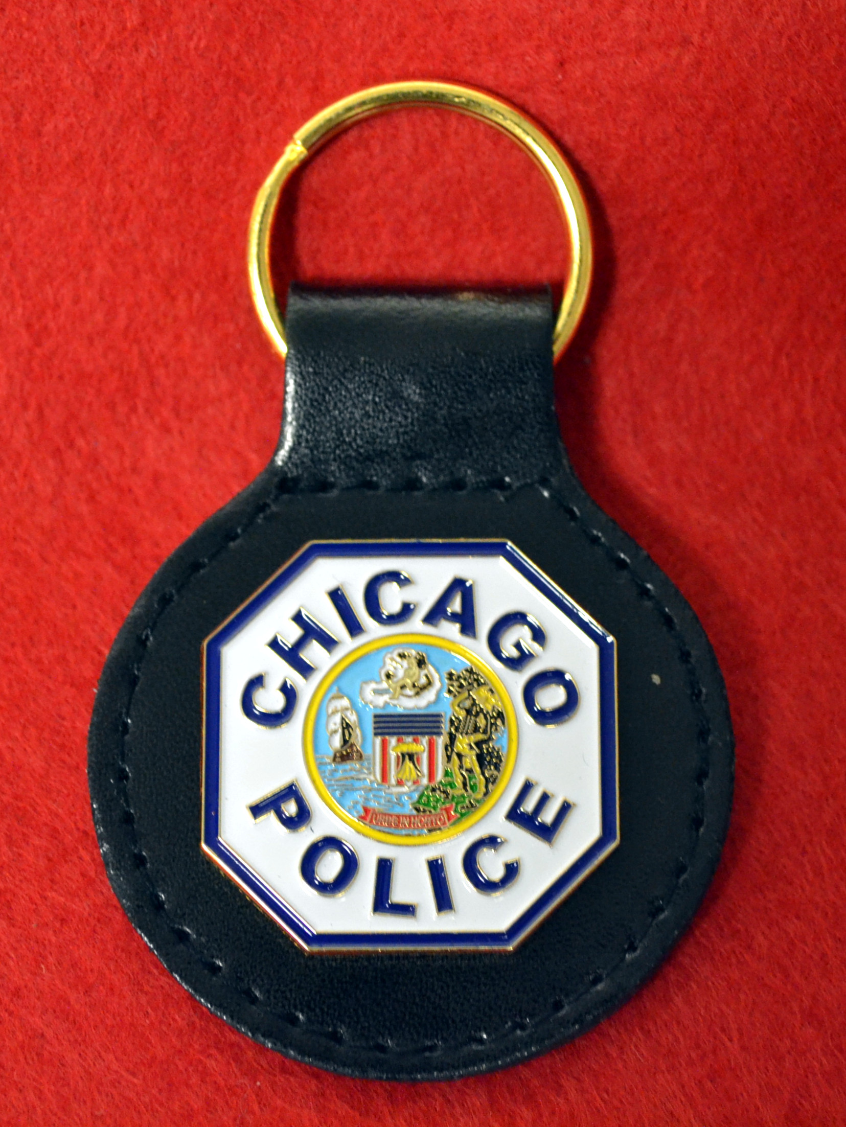 CPD Patch Key Fob