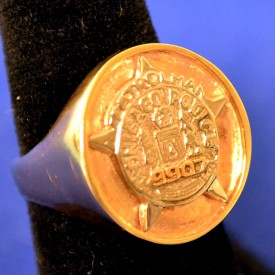 Large Ring With Old Star - All Ranks