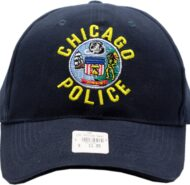 NAVY BALL CAP WITH CITY EMBLEM