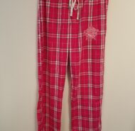 PINK FLANNEL LOUNGE PANTS