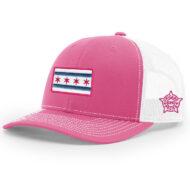 PINK-WHITE-MESH-CAP