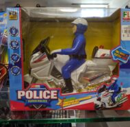 MOTORCYCLE POLICE OFFICER TOY
