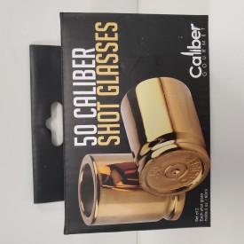 50 CALIBER SHOT GLASSES