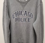 CREW CHICAGO POLICE SWEATSHIRT 2