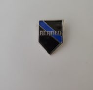 BLUE LINE RETIRED PIN