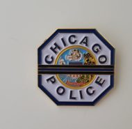 PATCH BLUE LINE PIN